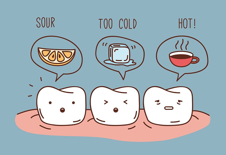 Răng bị ê buốt khi ăn đồ chua