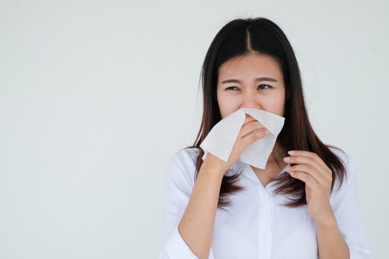 sâu răng gây viêm xoang