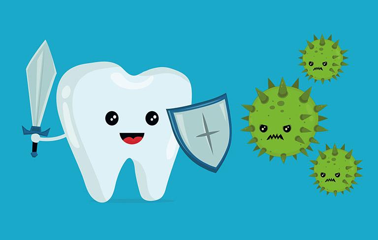 Hình ảnh sâu răng ở trẻ em