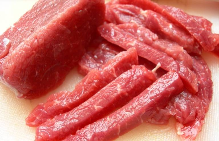 Các loại thịt dai