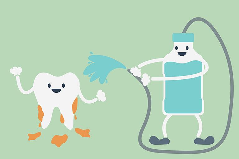 fluor ngừa sâu răng