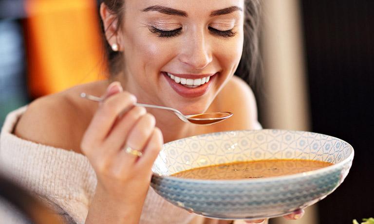 Món ăn tốt cho người bị đau răng