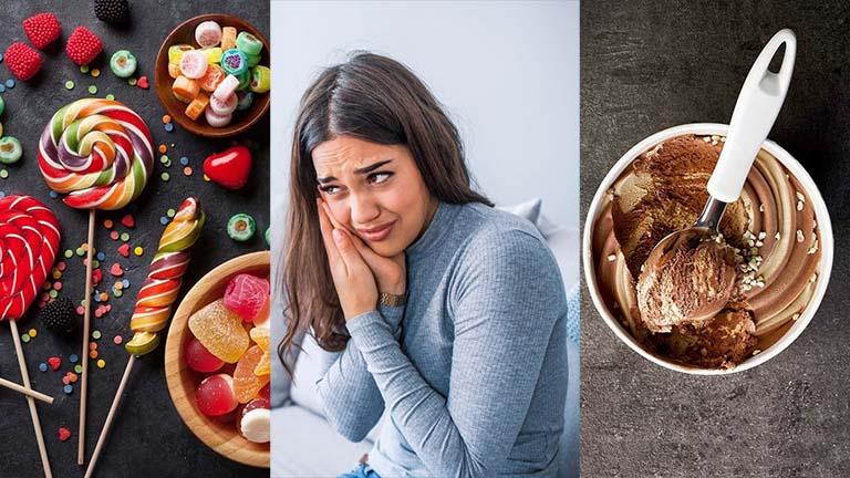 Răng bị đau nhức khi ăn đồ ngọt