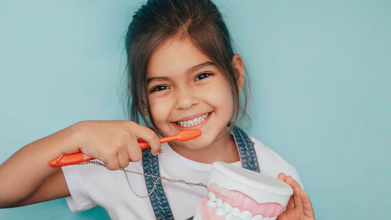 bệnh sâu răng hàm ở trẻ em