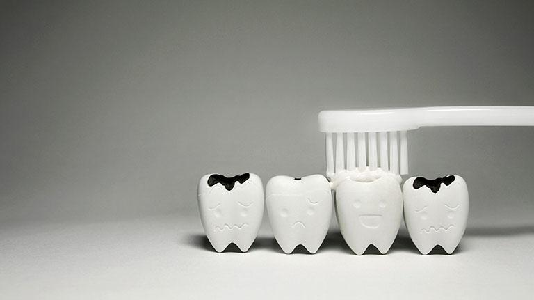 Sâu răng vào tủy