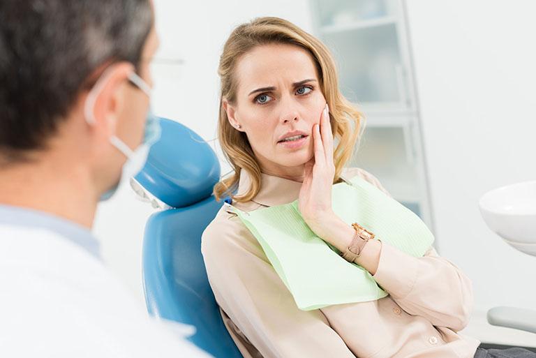 đau nhức sau khi trám răng