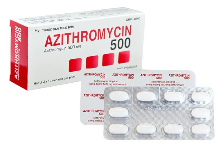 Chữa tụt lợi chân răng với thuốc kháng sinh Azithromycin