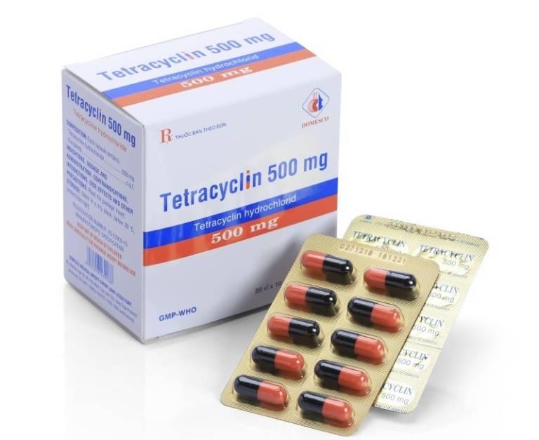 Chữa tụt lợi với thuốc Tetracyclin