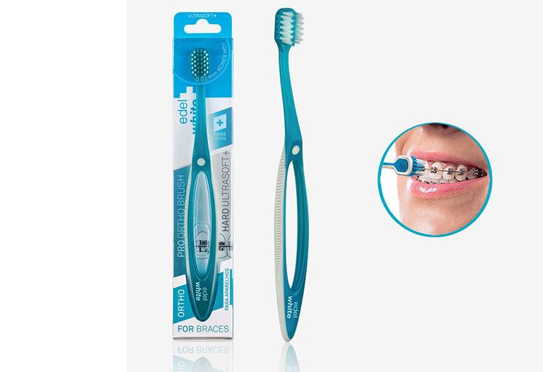bàn chải đánh răng dành cho người niềng răng