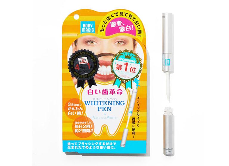 kem tẩy trắng răng của Nhật