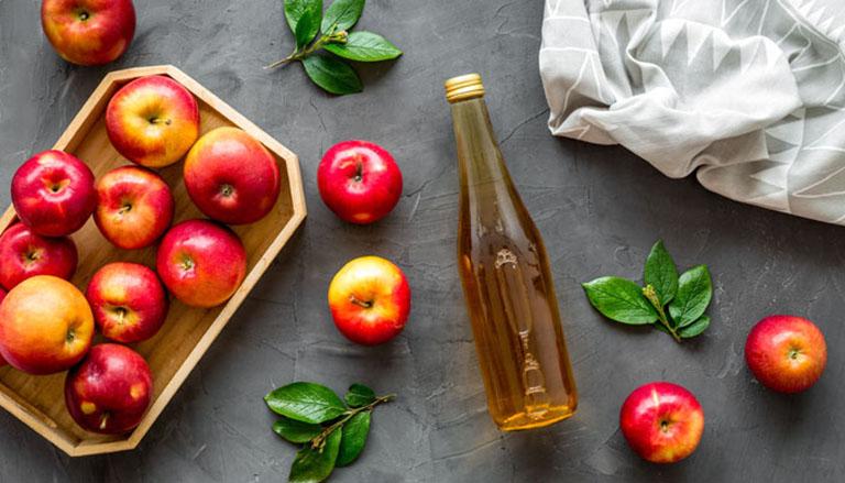 cách chữa hôi miệng bằng giấm táo