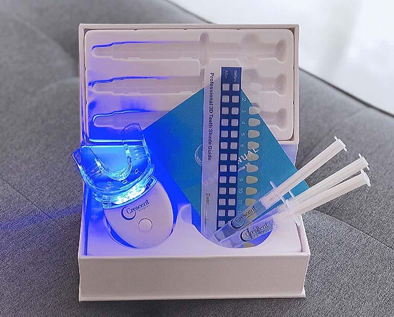 bộ kit tẩy trắng răng tại nhà
